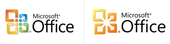 redesigned logo - microsoft office