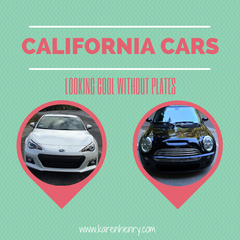 Differences between driving in Ireland and California - no front licence plates