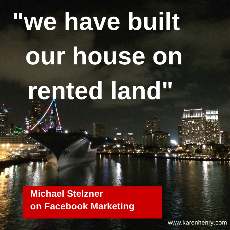 Michael Stelzner on Facebook Marketing